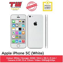 Apple iPhone 5c (32GB) (White) (Refurbished)