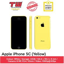 Apple iPhone 5c (32GB) (Yellow) (Refurbished)