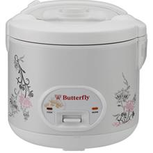 Butterfly 1.8L Stainless Steel Inner Pot Electric Rice Cooker - BRC-JS6018)