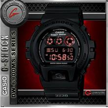 CASIO G-SHOCK DW-6900MS-1 WATCH ☑ORIGINAL☑1 YRS WARRANTY