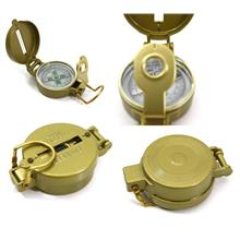 Metal Case Liquid Filled Lensatic Compass 360° Degree