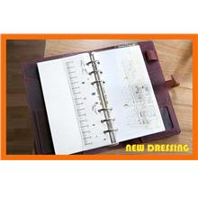 DR062 - A6 Loose Leaf 3 in 1 Ruler/Divider