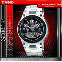 CASIO AW-80D-1A2V ANALOG DIGITAL WATCH ☑ORIGINAL☑