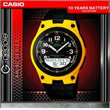 CASIO AW-80-9BV ANALOG DIGITAL WATCH ☑ORIGINAL☑