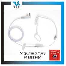 White Airtube K Port Earphone For UV82 UV5R TK-3107 V1000 Talkie