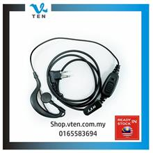 M Port PTT Earphone For GP3188 GP2000 CP1300 GP3688 XIR P3688