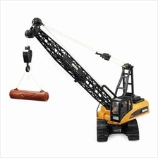 HUINA TOYS 1572 1:14 2.4GHZ 15CH RC ALLOY CRANE ENGINEERING TRUCK RTR WITH MOV