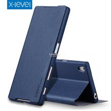 X-Level Sony Xperia Z5 Premium Plus Flip Stand Case Cover Casing