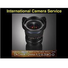 Laowa 12mm f/2.8 Zero-D Lens for Nikon,Canon or Sony