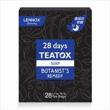 LENNOX 28 days Teatox Sleep Botanists Remedy 33g x 28s)