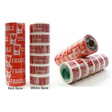 Fragile Printed Packing OPP Tape 48mm x 50m 6rolls Handle With Care