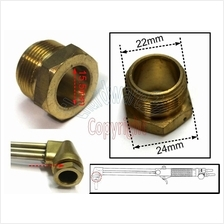 Cutting Torch Brass Tip Nut 7/8'x20P (CTN)