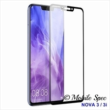 HUAWEI NOVA 3 3i 3E FULL COVER COLOR TEMPERED GLASS SCREEN PROTECTOR