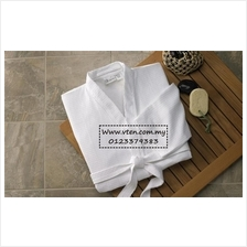 Custom made Hotel Waffle Bathrobe Cotton Soft Sleepwear Pre Order