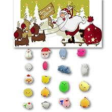 [Korean Products]Christmas Toys Mini Cute Squeeze Funny Toy Soft Stress Relief