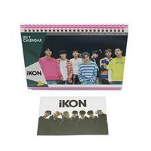 [Korean Products]iKON K-pop 2 019 Photo Calendar with Post Card