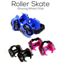 Kids Roller Skates with Glowing Wheel 7083e203df