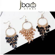 Classic Long Bohemian Crystal Zircon Earring / Earrings
