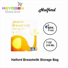 Halford Breastmilk Storage Bag 7oz ( 25pcs )pre-sterilised breast milk