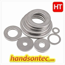 M10 Stainless Steel A2 Plain Washer- Metric/ 5-pcs