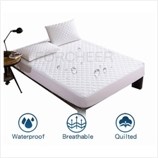 Mattress Protector Waterproof Queen King/Single Quilt Bedding Bedsheet