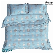 Essina Selena Fruity Microfiber Plush Fitted Bedsheet Set