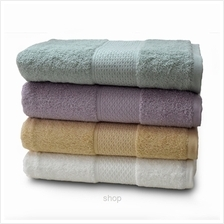 [Set of 2] Essina Finesse Egyptian Cotton Bath Towel Mocha)