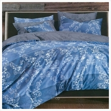 Essina Shamelin 5pcs Quilt Cover Set Twill Cotton 620TC Contempo 40cm
