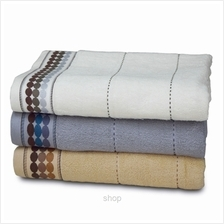 Essina Oval Quality Cotton Bath Towel (Cream))