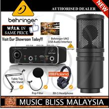 Behringer Affordable Vocal Recording Package