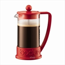 Bodum Brazil 8 cup French Press Coffee Maker (Red) - 10948-294