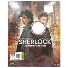 English Drama Sherlock Complete Series Three DVD
