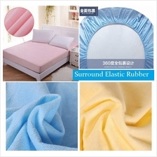 NEW! SINGLE QUEEN KING Waterproof Bedsheet Mattress Protector