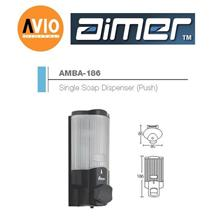 AIMER MALAYSIA AMBA-186 STAINLESS STEEL 350ML SINGLE SOAP DISPENSER