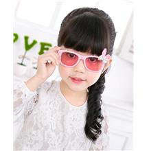 [EH1869-18454] Cute Rabbit Ribbon Kids Sunglasses