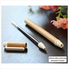 Custom made Eco Pen Eco Friendly Ball Pen Highlighter Logo Pre Order