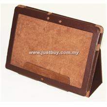 Asus Transfomer Prime TF201 Leather Case - Brown