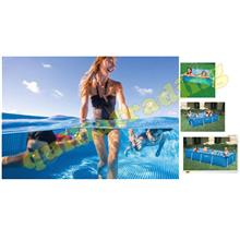 Intex Metal Frame Rectangular Pool