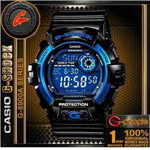 Casio g shock wrist watch g8900a-7 white with manual model.