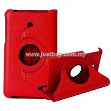 Asus Fonepad 7 FE170 Rotating Leather Case - Red