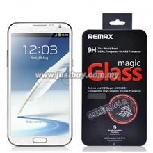 Samsung Galaxy Note 2 REMAX 9H Real Tempered Glass Protector