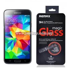 Samsung Galaxy S5 REMAX 9H Real Tempered Glass Protector