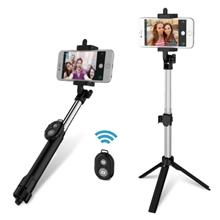 gocomma 3 in 1 Handheld Extendable Bluetooth Selfie Stick Tripod Monop..