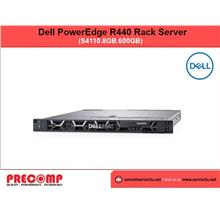 Dell PowerEdge R440 Rack Server (S4110.8GB.600GB) (210-ALZE)