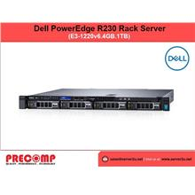 Dell PowerEdge R230 Rack Server (E3-1220v6.4GB.1TB) (R230-1220v6-HW)