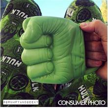 Hulk Punch Shaped Mug