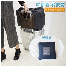 97b38276d281 Foldable Large Capacity Travel Luggage Bags Handbags Light Short Trip