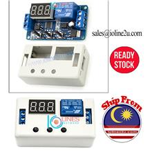 12V DC 4 working mode Delay on/off timer repeat 0.1s to 999m Loop LED w/Case