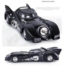 Black Classic bat classic Alloy pull back Batman Chariot DieCast model