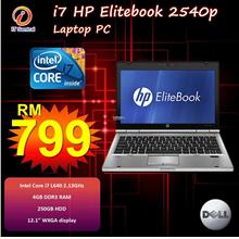 Intel Core I7 Ultra-Portable HP Elitebook 2540p Laptop Notebook PC